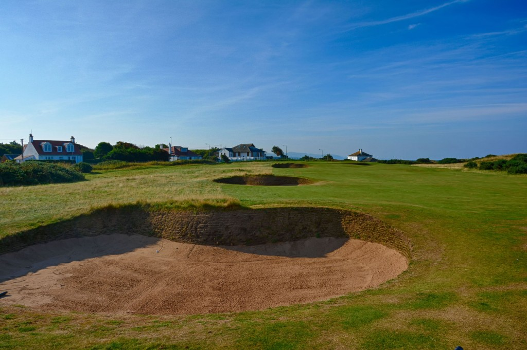 Turnberry Hole 1 Sand Trap
